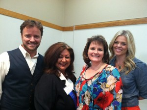 Patrick Nooren, Maria Sandoval, Gail Painter and Heather Patchell